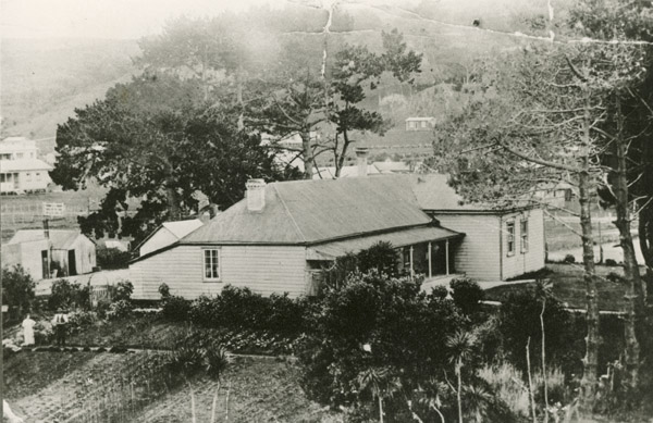 Browns Bay in the early years