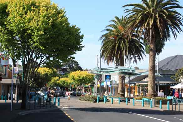 About Browns Bay on Auckland's North Shore