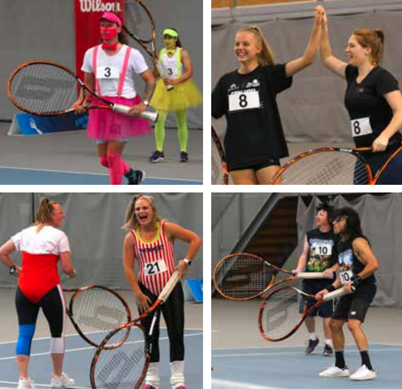 Rotary Browns Bay held the fourth charity Jumbo Tennis tournament