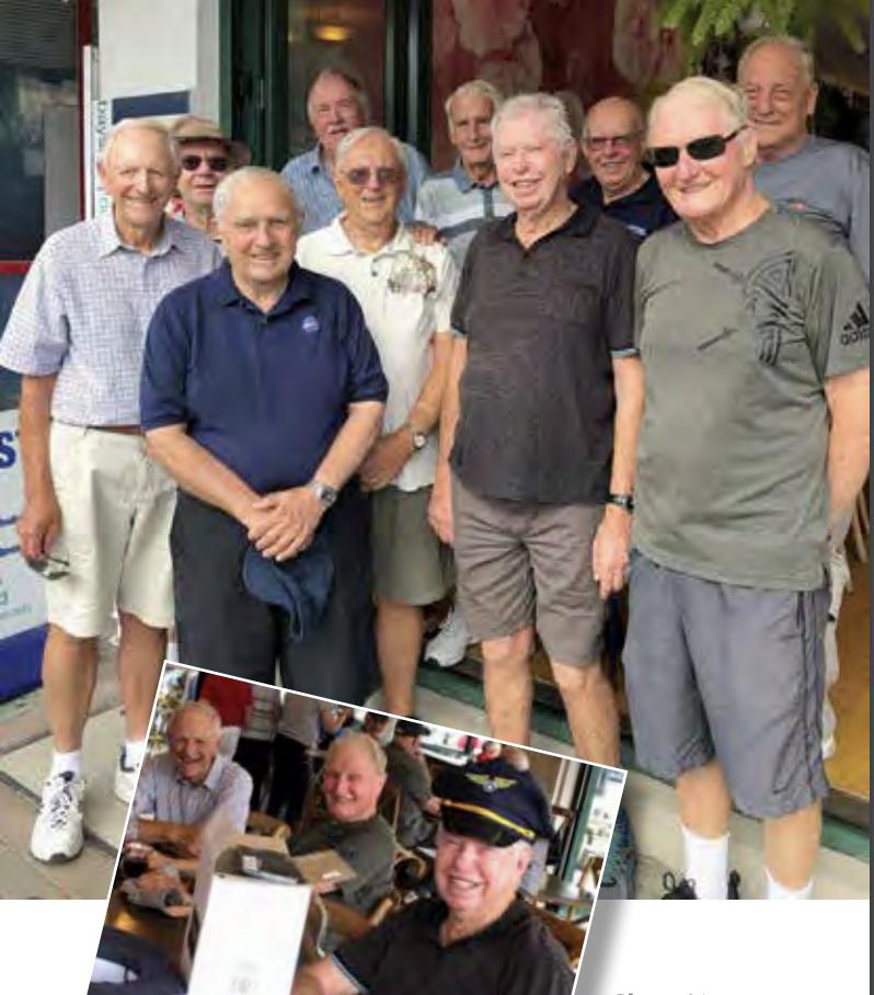 Browns Bay's gentlemen's walking group