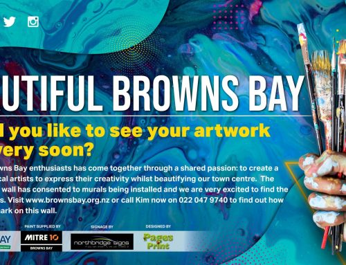 New Wallart Beautifies Browns Bay
