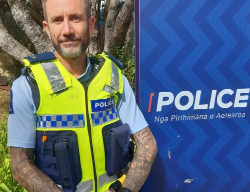 Welcome To New Community Constable Simon Fox